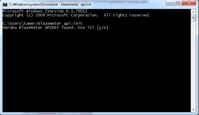 Initializing BlazeMeter Ruby Gem